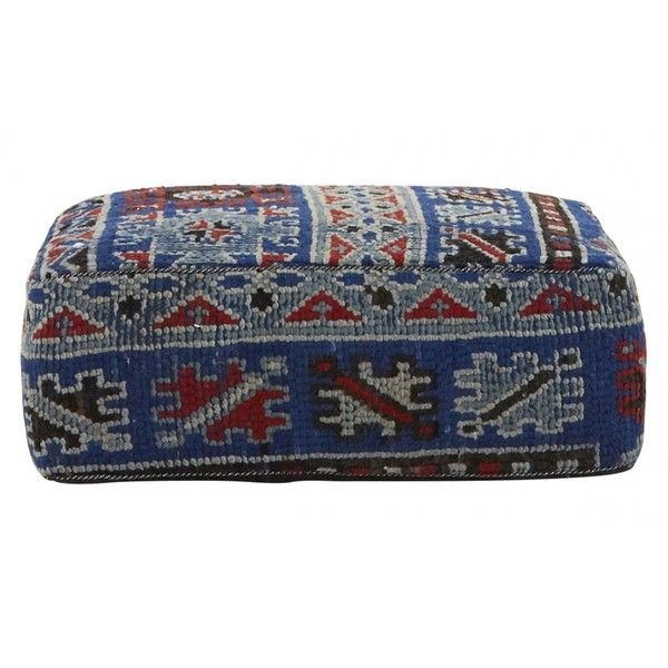 Jayson Home Moroccan Rug Cushion (€440) ❤ liked on Polyvore featuring home, home decor, throw pillows, moroccan home decor, colorful home decor, geometric home decor, multi colored throw pillows and moroccan style home decor