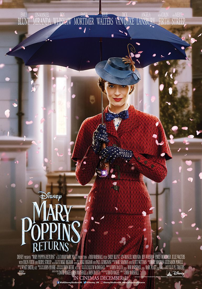 Image result for mary poppins returns 2018 poster