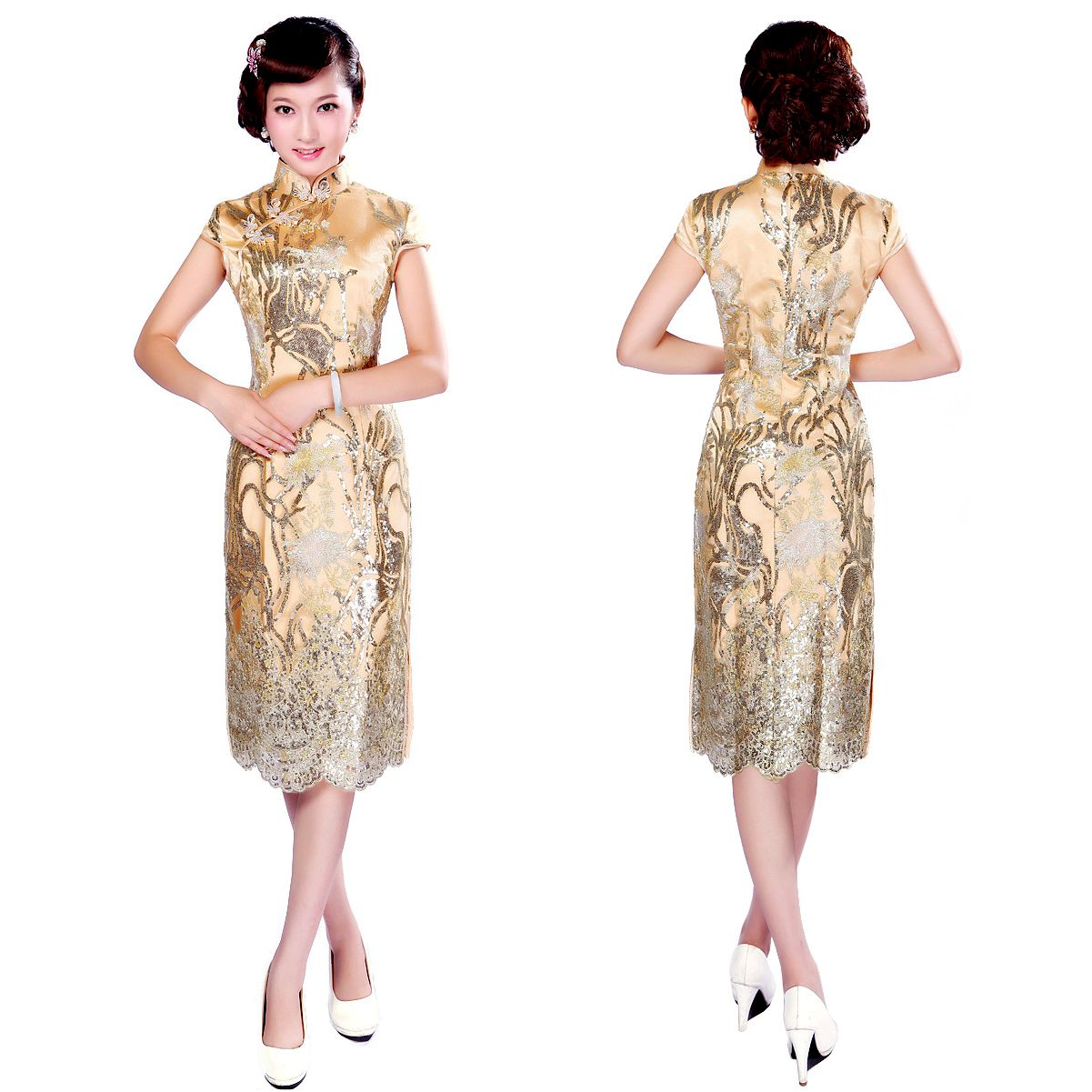 Beste Brautjunferkleider Mandarine Ideen - Brautkleider Ideen ...