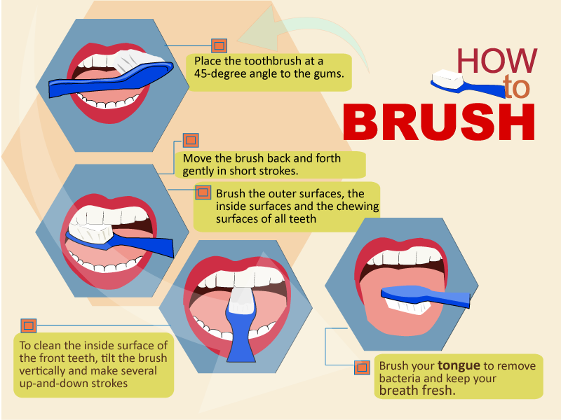 Learn how to brush your teeth the right way! Stay away ...