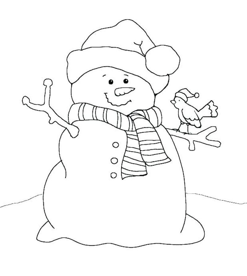 Baby Snowman Coloring Pages Snowman Coloring Pages Christmas Quilt Patterns Christmas Coloring Pages