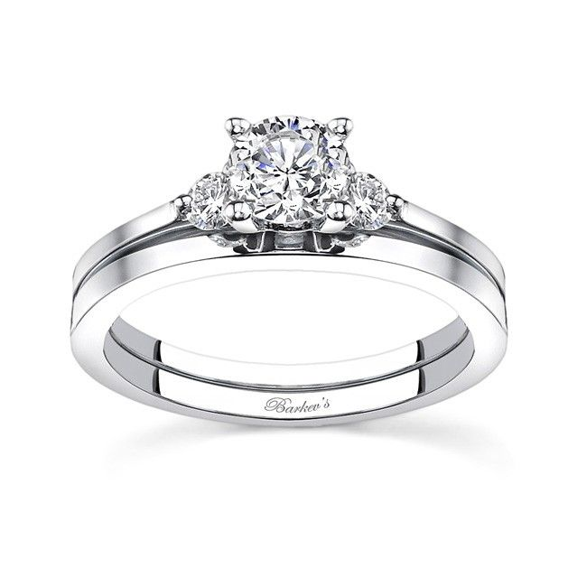 """A simple statement of """"LOVE""""...White gold diamond ..."""