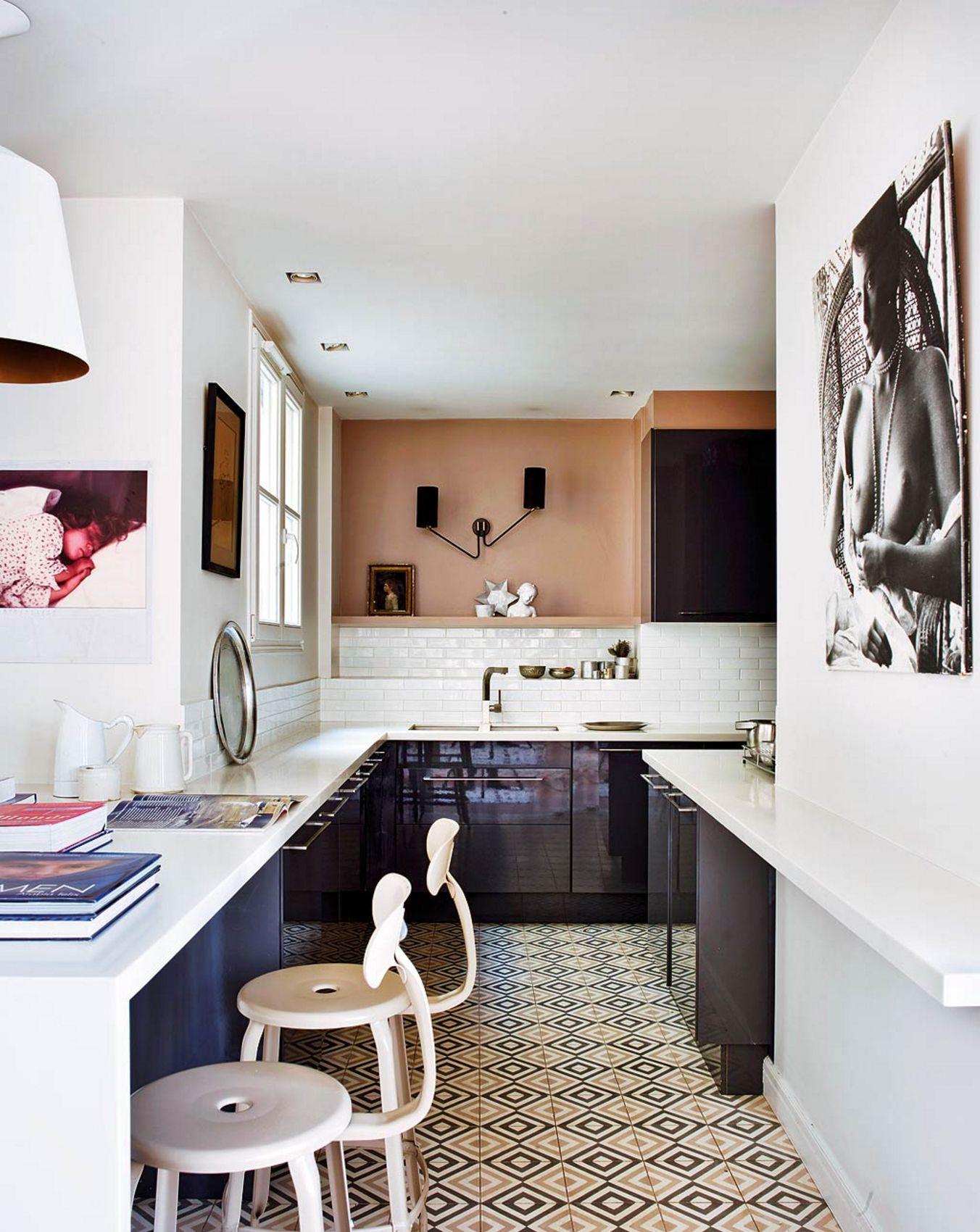 Exceptionnel Moroccan Inspired French Kitchen Parisian Apartment, Paris Apartments,  Apartment Kitchen, Kitchen Interior,