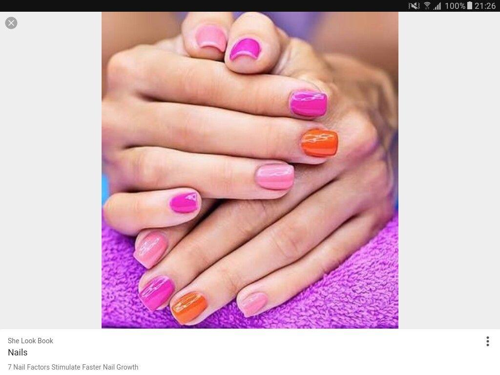 Pin by Ruxandra Mac on Nails- Multiple Tones | Pinterest