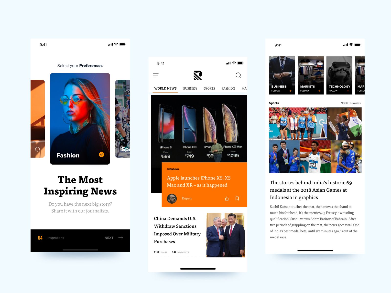 Hello Recently I Ve Been Working On News App Concept Hope You