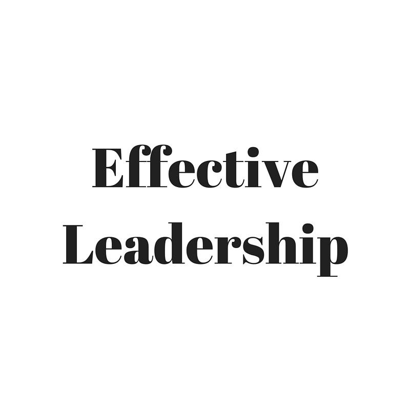 Protected: Effective Leadership