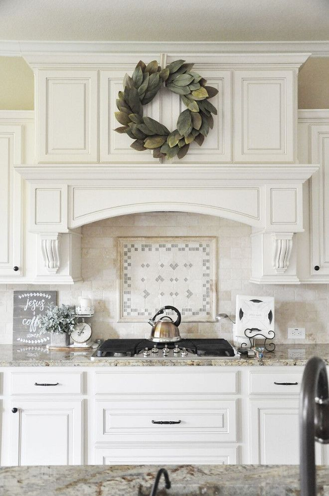 Traditional Kitchen Backsplash Neutral Traditional Kitchen