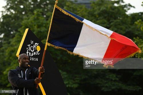 French judoka Teddy Riner, named France's flag-bearer for... #riocaldo: French judoka Teddy Riner, named France's flag-bearer… #riocaldo