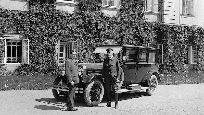 Škoda Hispano-Suiza 25/100 HP převzal prezident Tomáš Garrigue Masaryk.