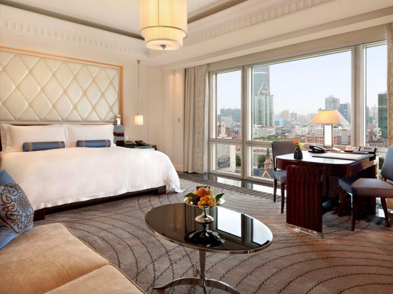 Peninsula Shanghai Shanghai, China  The hustle of Shanghai's Bund neighborhood seems to disappear as soon as you check in to this hotel. Thank the state-of-the-art rooms, which are not only soundproof, but also feature buttons near each bed that allow you to put up a do-not-disturb notification without having to get up.