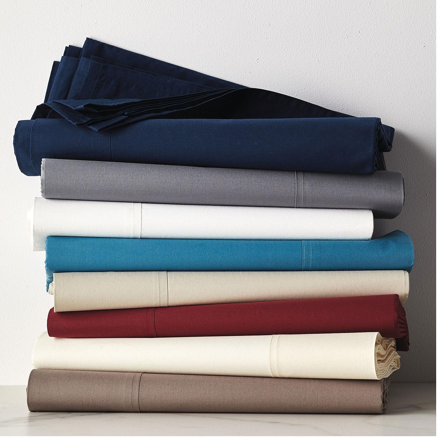 400thread count supima percale sheets king sheets