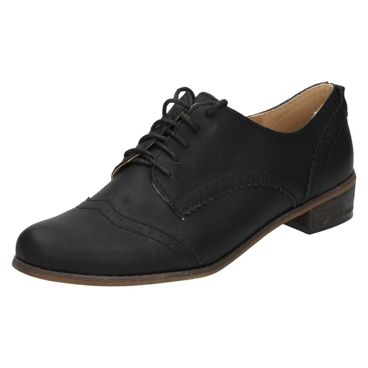 Ladies Spot On /'Formal Shoes/'