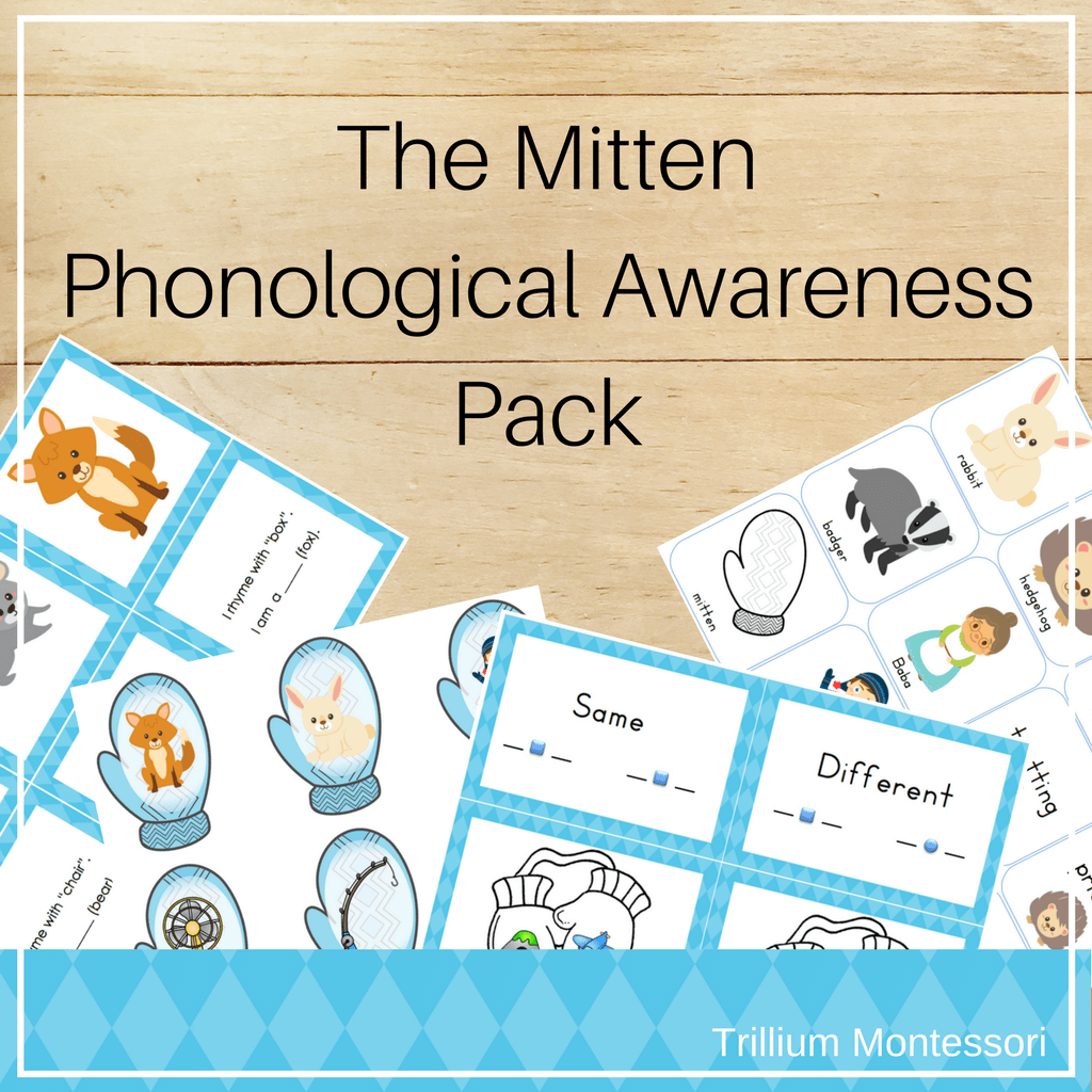 The Mitten Phonological Awareness Activities