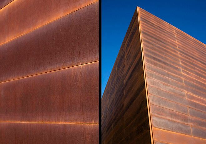 Corten Steel Cladding Cor-ten steel cladding