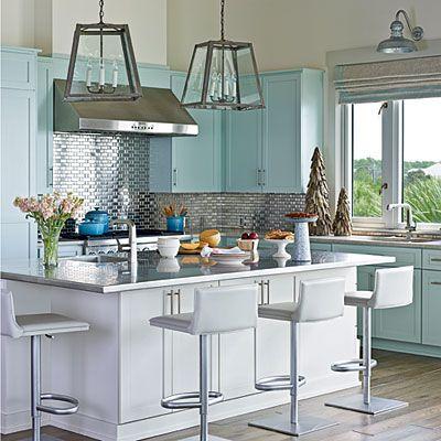 Fresh Coastal Living Kitchen Surfaces Home Beach House Kitchens