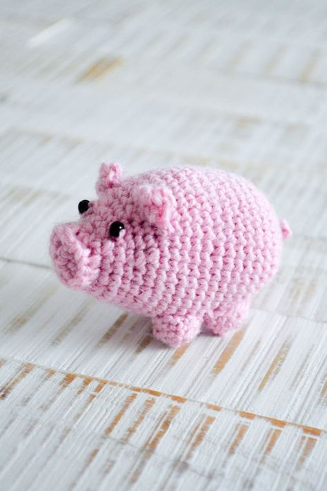 Glücksschwein #menscrochetedhats
