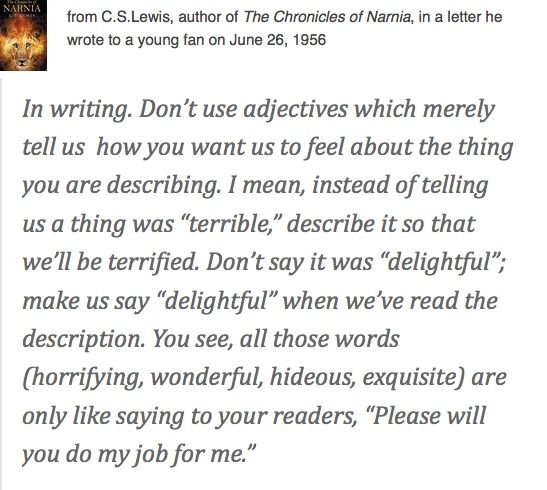 The Chronicles of Narnia Poetry Writing