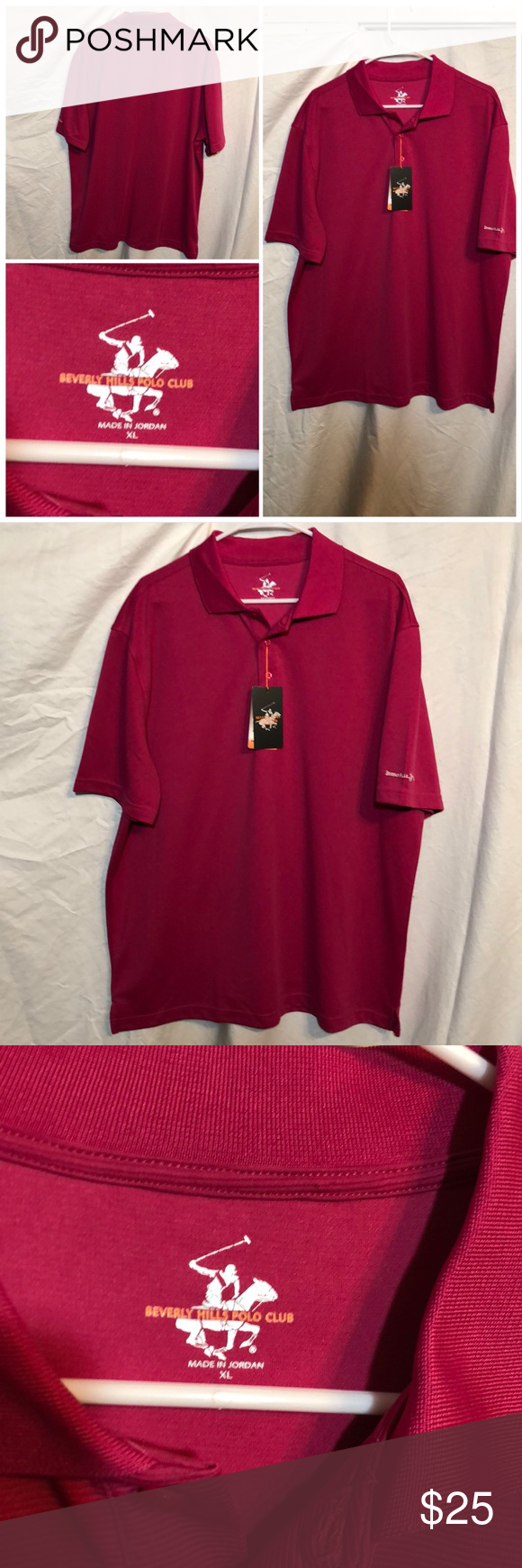 Beverly Hills Polo Club Polo Size Xl Beverly Hills Polo Club Polo Club Performance Wear