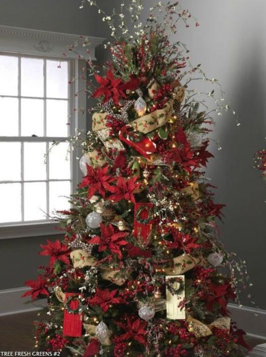 Beautiful Christmas Tree Images Part - 32: Beautiful Christmas Trees Decorating Ideas Pictures