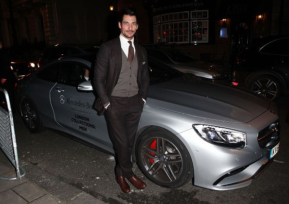 Esquire Guests Arrive In Style In A Mercedes-Benz During London Collections: Men
