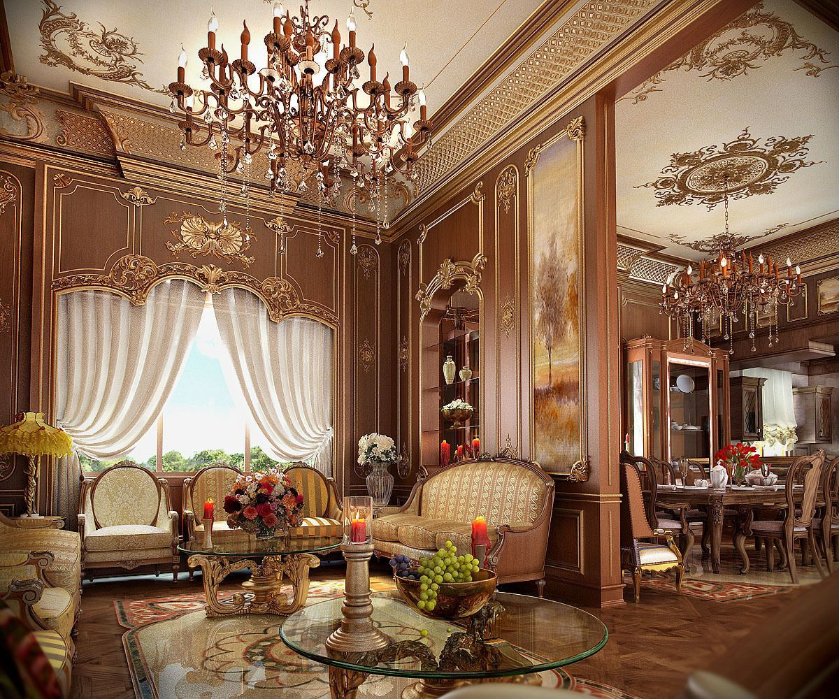 Luxury Classic Living Rooms: 'classic Living Room ' By Syriana. You Can Buy This 3D