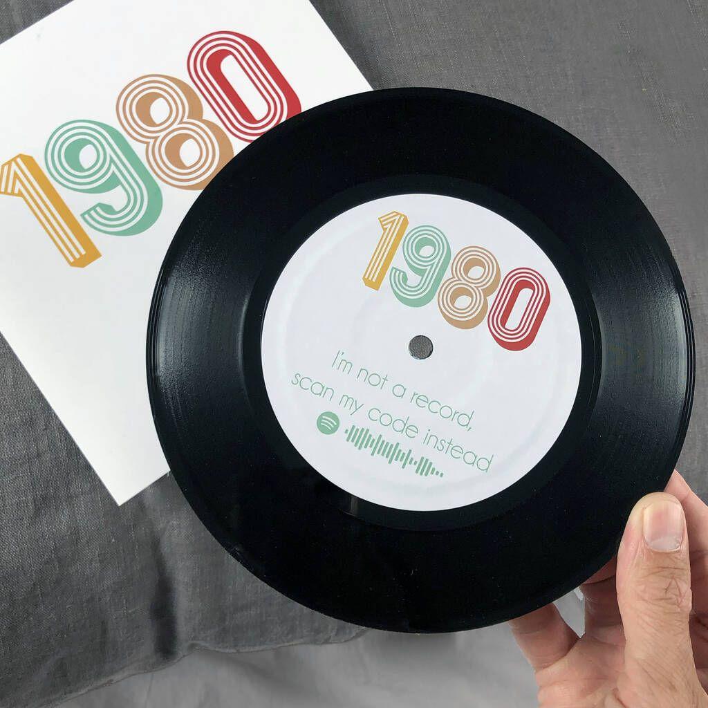 Personalised Birth Year Vinyl Spotify Playlist En 2020