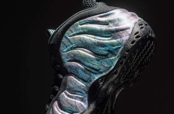 new style 223bb 82ba1 Beauty Shots Of The Nike Air Foamposite One Abalone (Aurora ...