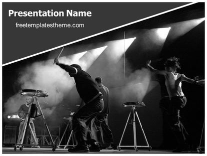 Download free rock band event powerpoint template for your download free rock band event powerpoint template for your toneelgroepblik Images