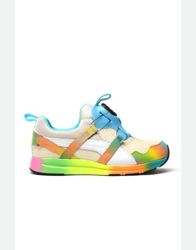 Puma X Solange Disc Collection Burlap Rainbow sneakers