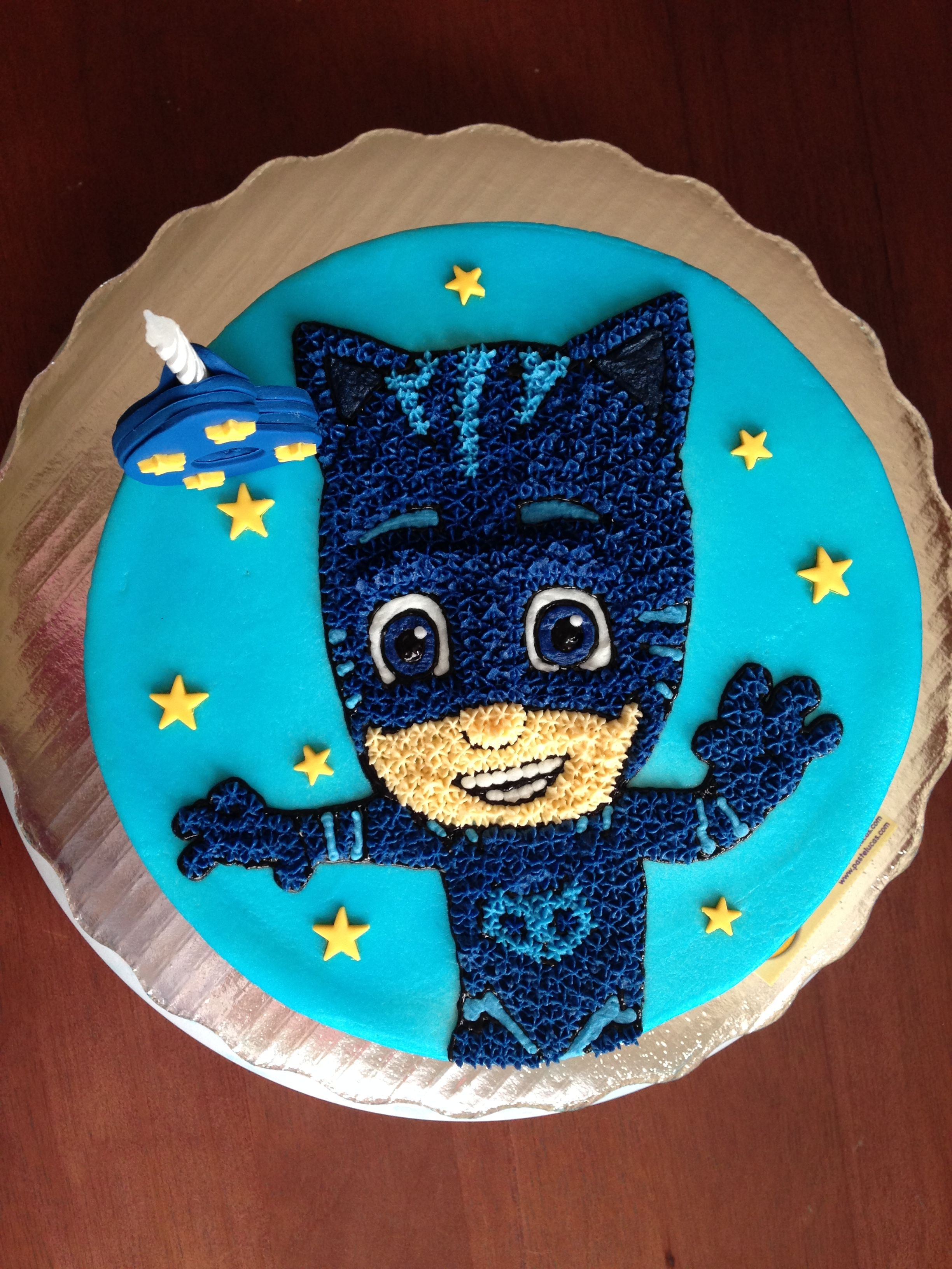 Catboy Pj Mask Cake Pj Masks Birthday Cake Pj Masks Birthday