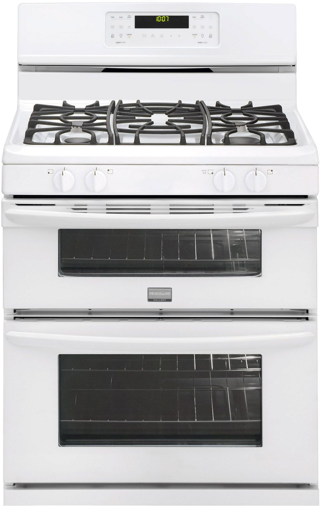 Frigidaire Gallery 6.7 cu. ft. Double-Oven Gas Range - White Review Buy Now