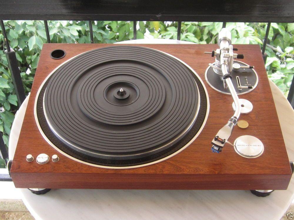 MICRO-SEIKI DD-40 | Turntable Gallery | Hifi audio, Record player