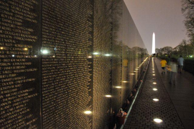 Washingtons Vietnam Veterans Memorial was designed by Maya Ying