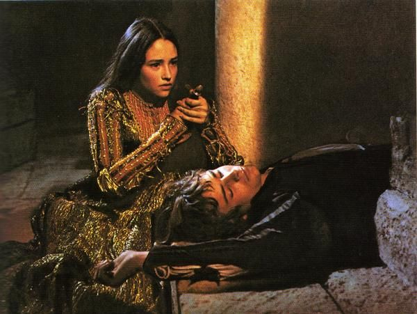 Image result for juliet dead zeffirelli