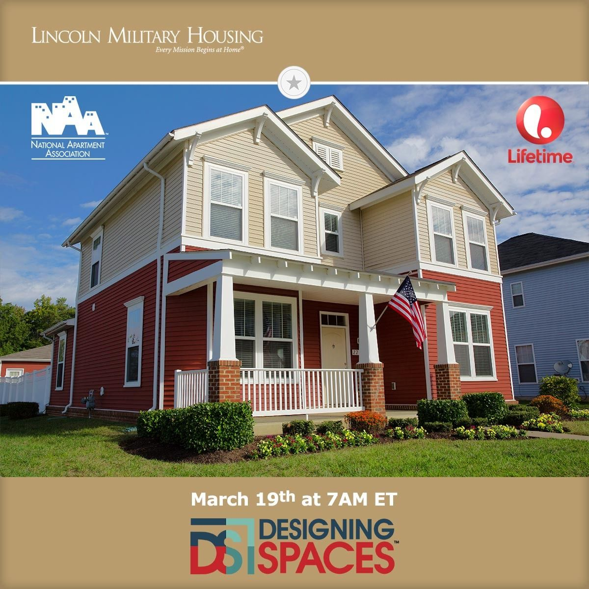 Designing Spaces Features Lincoln Military Housing