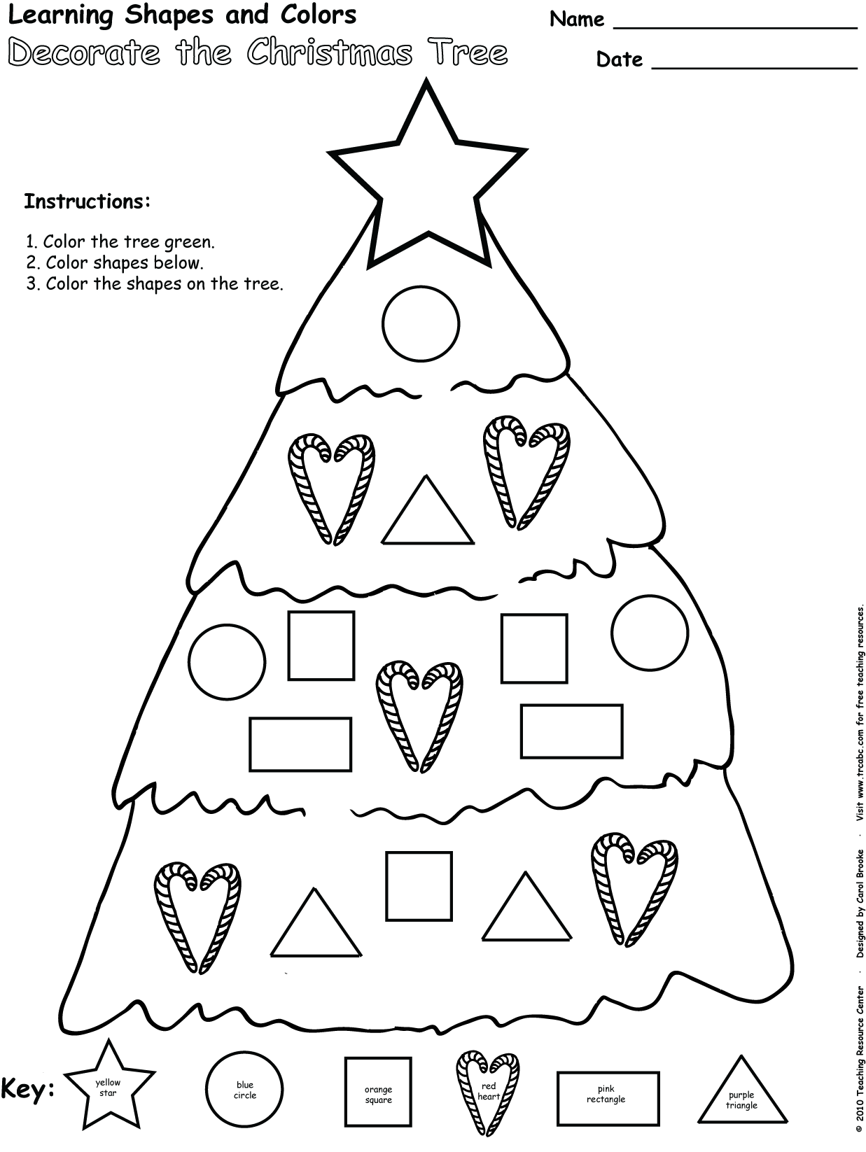 Blog Christmastree Learningshapesandcolors