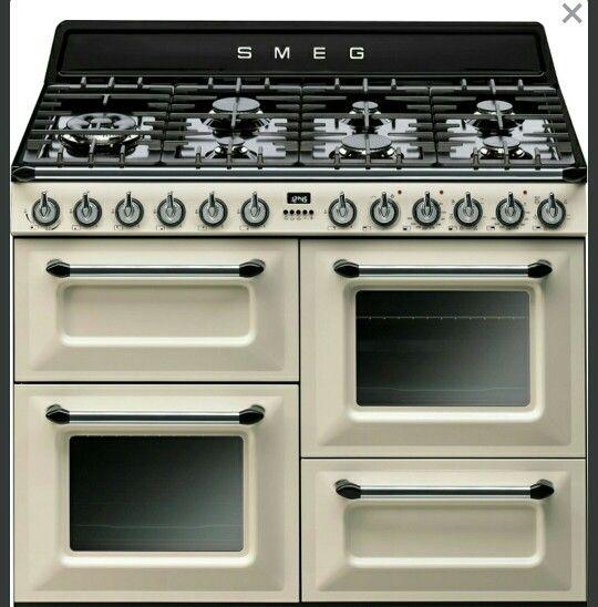 Smeg Range Cooker Home Improvement Pinterest - Cuisiniere electrique four chaleur tournante pour idees de deco de cuisine