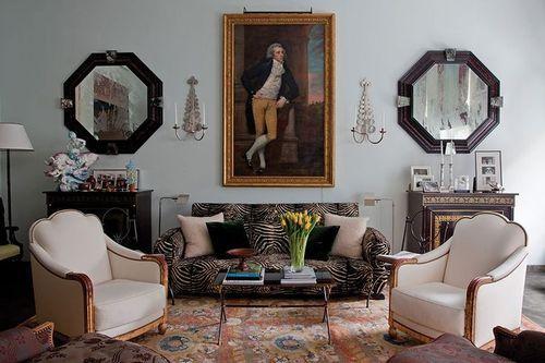 Designer Robert Couturier From His New Book Via A D Interior Design Inspiration Eclectic Interior Interior Design