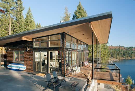 10 außergewöhnliche Bungalows mit Pultdach Moderne