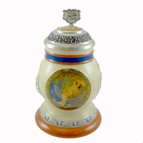 Anheuser Busch Stein  #AnheuserBuschStein  #AnheuserBusch  #Malt  #MaltNutrine  #Ceramics  #Steins  #Breweriana  #Antiques  #Kamisco