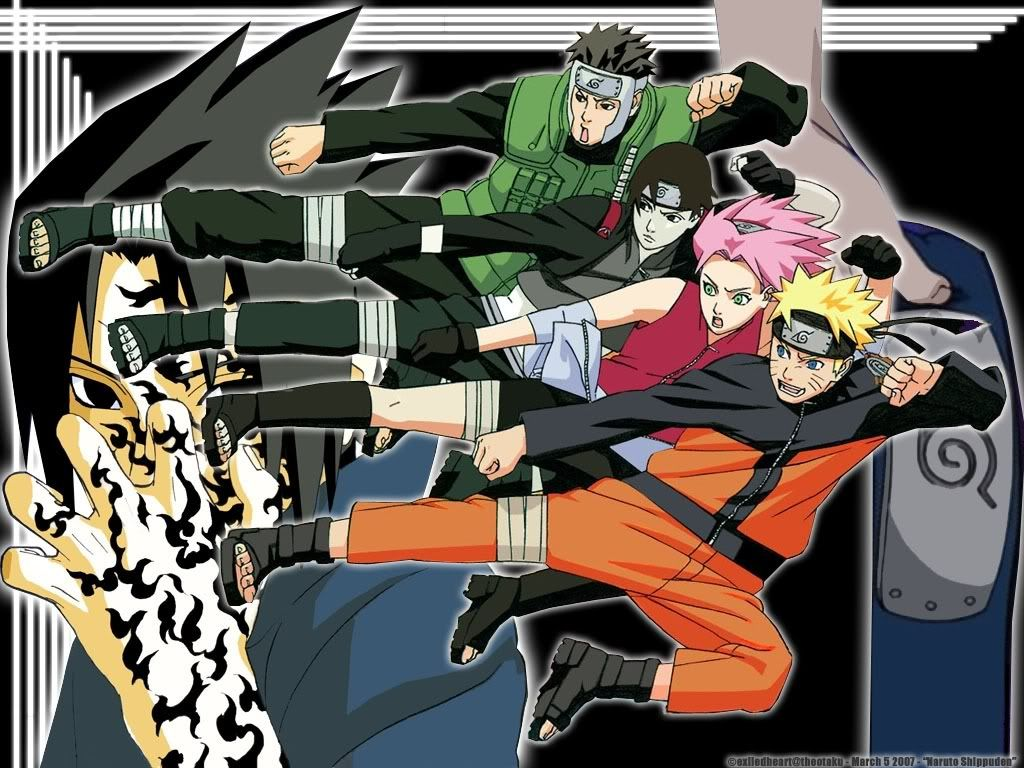 Dynamic Entry Naruto shippuden, Naruto, Naruto teams