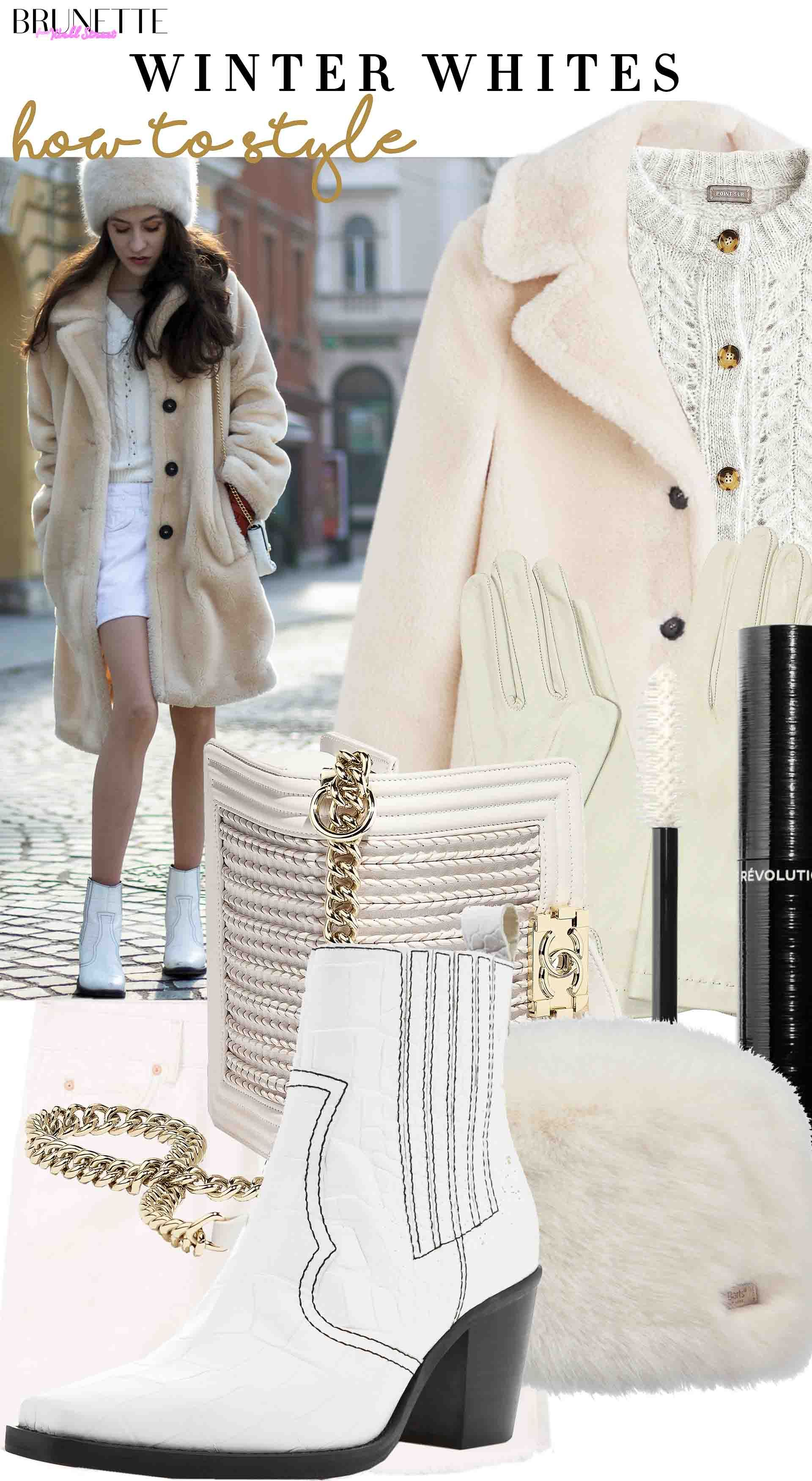 This Is The Most Fashionable White Winter Outfit And No With No White Jeans This Time Casual Winter Outfits Fashion Outfits [ 3500 x 1920 Pixel ]