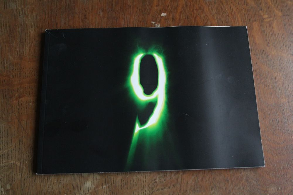 Super Rare Promotional Book For 9 With Letter From Shane Acker