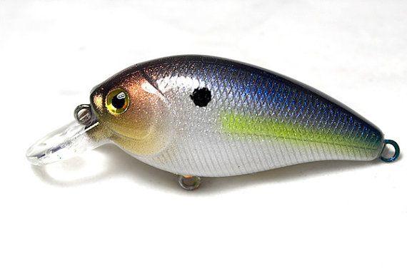 Custom Painted Fishing Lure Rapala Glass Shad by