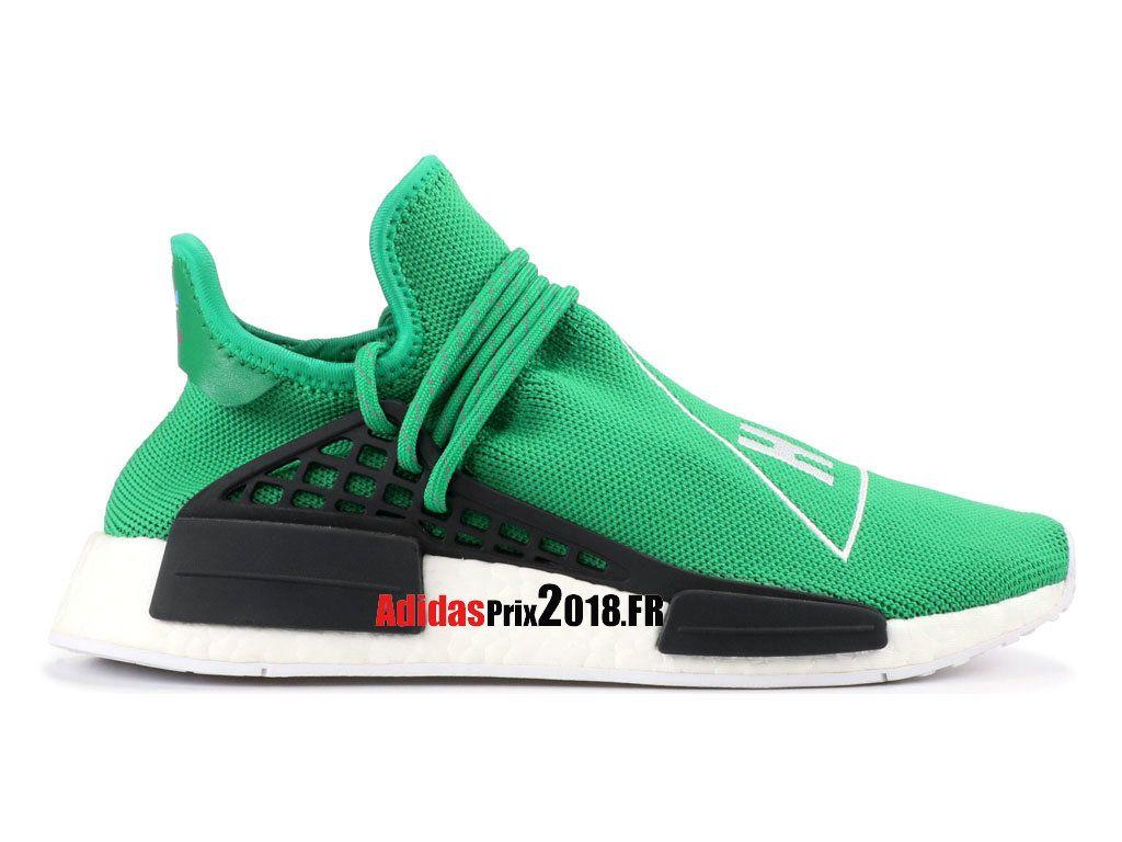 chaussure adidas vert et noir