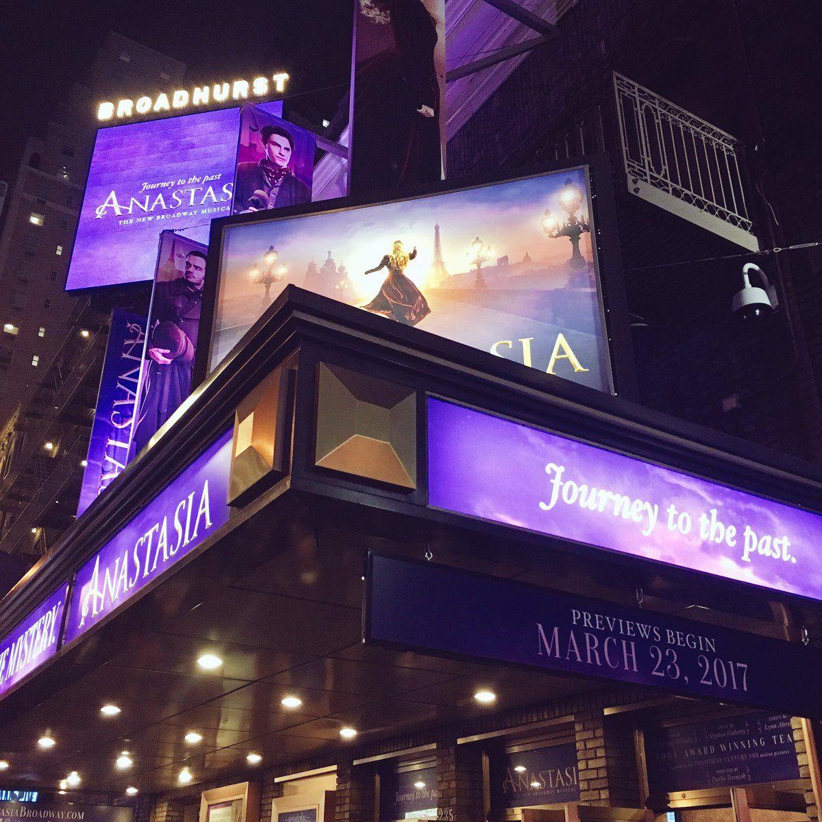 Love This Angle Anastasia Broadway Musical Theatre Broadway Anastasia Musical