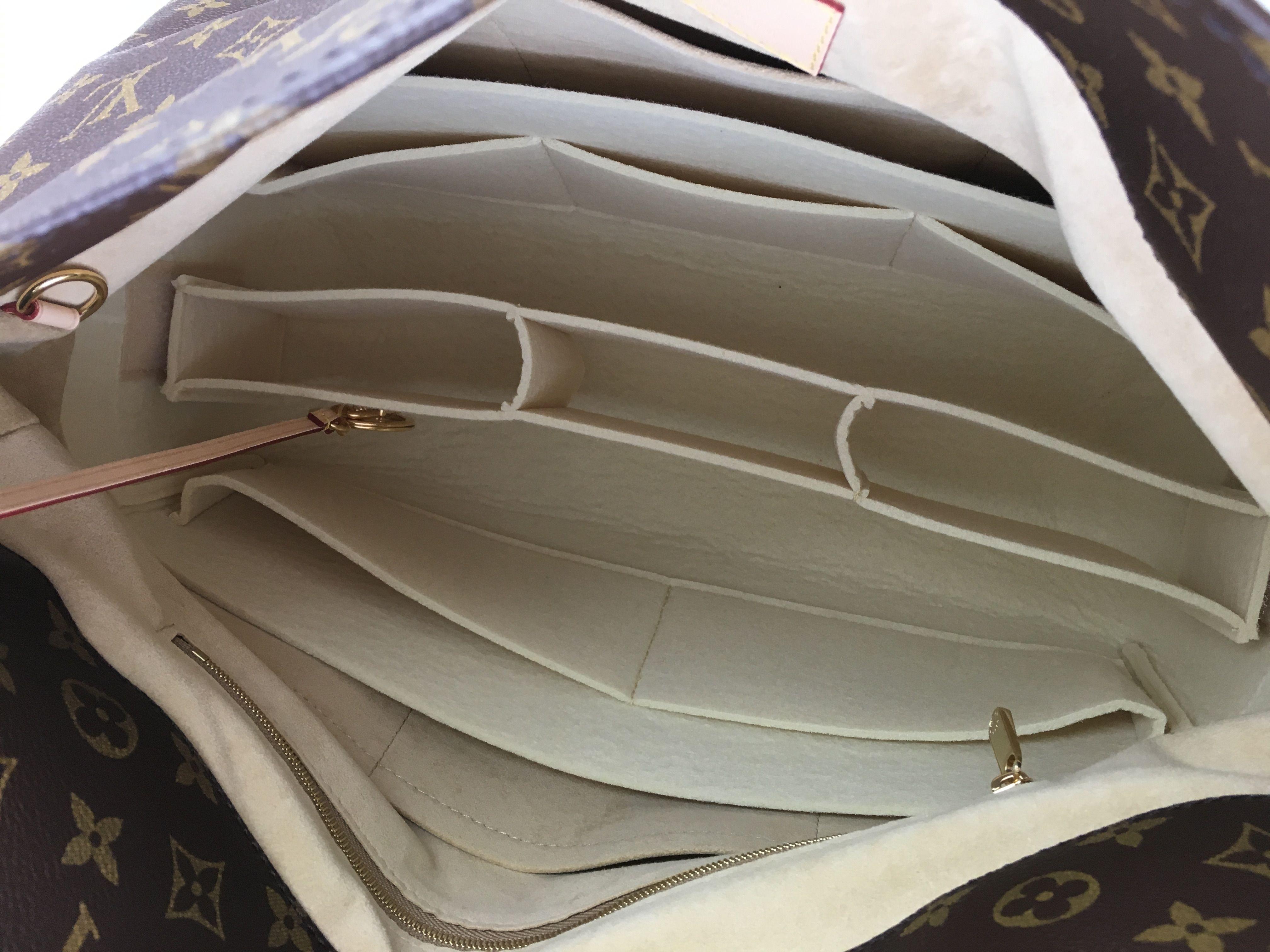 173515467b Louis Vuitton Artsy MM Organizer Shaper Liner Insert