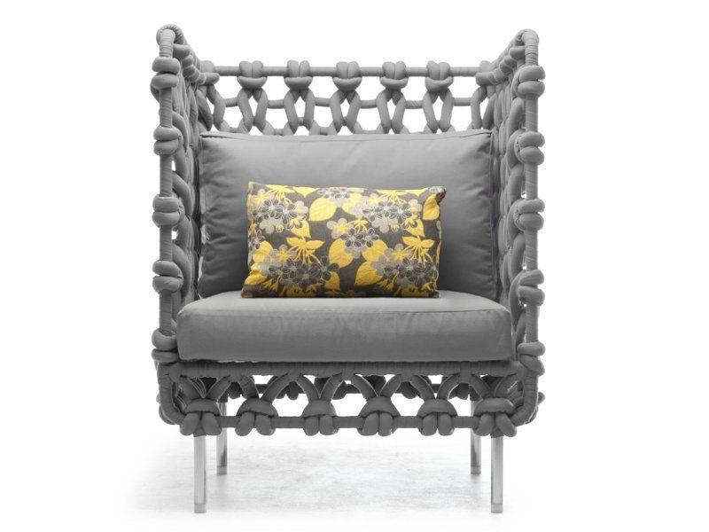 Polyester armchair / garden armchair Cabaret Collection by KENNETH - designer gartenmobel kenneth cobonpue