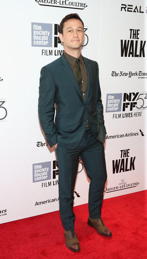 Joseph Gordon-Levitt NYFF September 2015 Pictures | POPSUGAR Celebrity