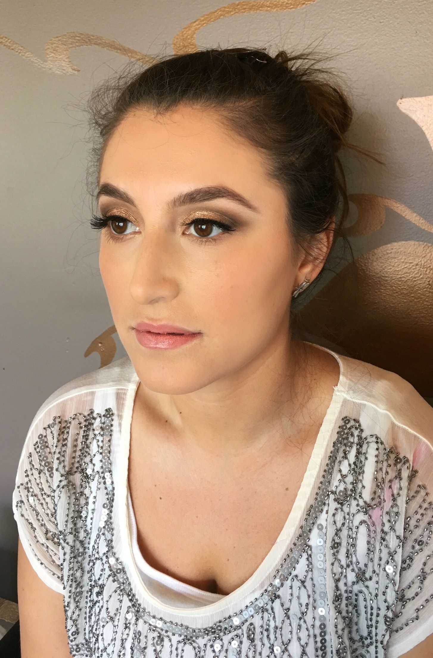 Natural Wedding Makeup Done By Artist IG Ashleymichelleartistry